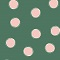 Soft cup bra Enamel green ladybird TAKE AWAY