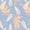 Culotte froufrou Aracée bleu myosotis TAKE AWAY